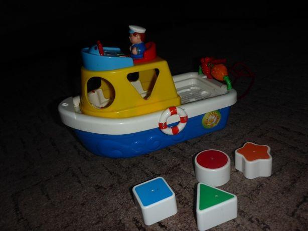 Interaktywny statek sorter kiddieland