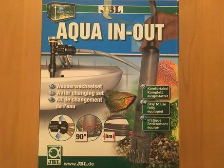 JBL Aqua in-out do wąż do wody do akwarium na kran