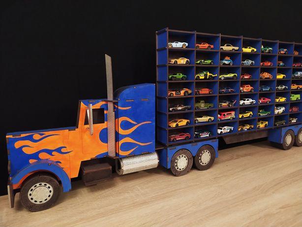 Органайзер для машинок Hot Wheels, полка-грузовик для моделей машинок