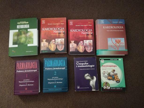 Książki MEDYCYNA, medyczne, LEP, egzamin lekarski- kilkadziesiąt tytuł