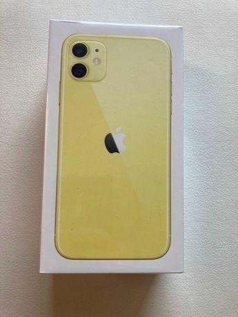 Nowy Apple iPhone 11 64Gb Yellow gwarancja
