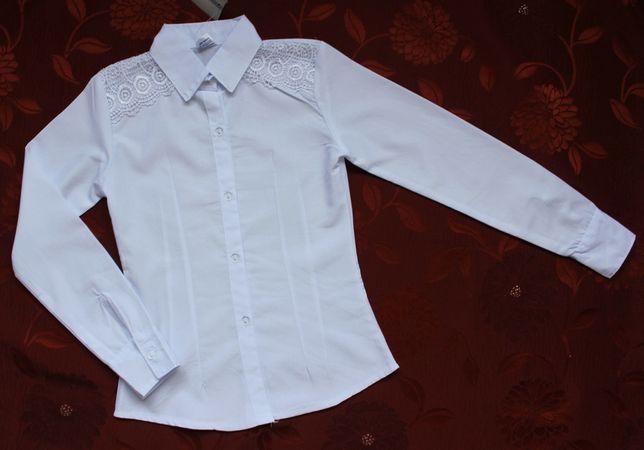 Школьная блузка для девочки, тм Sadaf