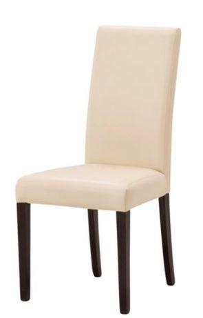 Krzesło / krzesła ekoskóra krem Agata Meble Zorro