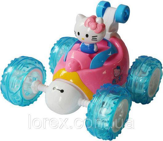 Машина трюковая перевертыш Hello Kitty Хелло Китти на радиоуправлении,
