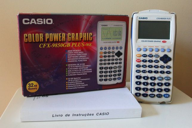 Calculadora Gráfica Casio CFX-9850GB PLUS