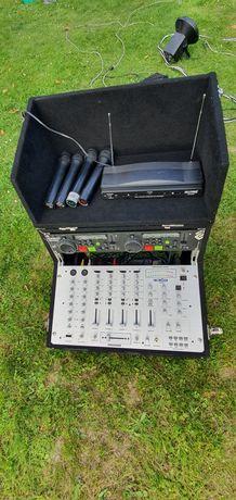 Sprzęt estradowy (mixer, oświetlenie)