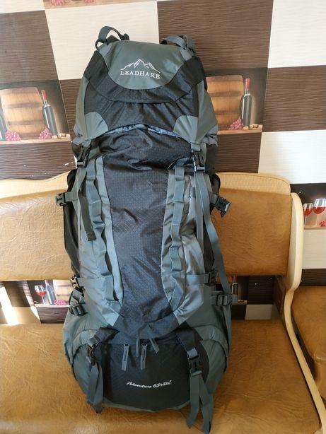 Туристический походный рюкзак для путешествий Leadhake 65 +10 л.
