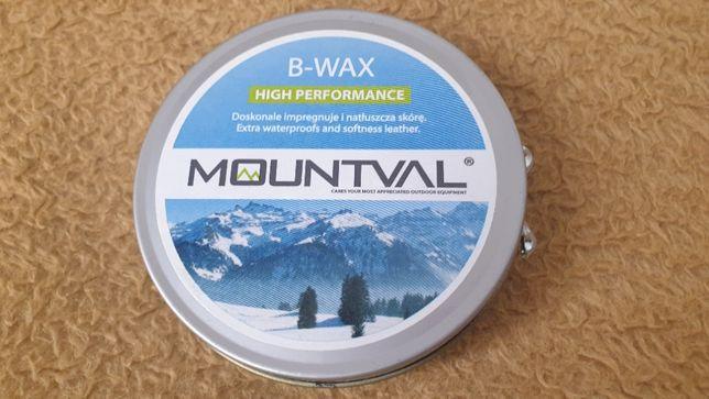 Wosk pszczeli , pasta do obuwia Mountval B-WAX 100ml, impregnacja