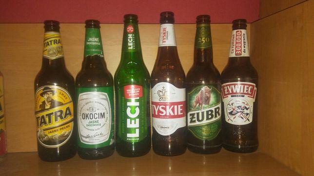 Butelka po piwie Około 700szt.