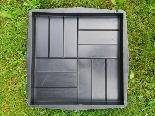 Forma formy do betonu kostki płytka płytki płyta chodnikowa 50x50x5cm