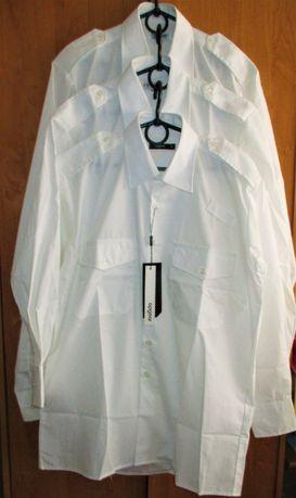 Форменная рубашка белая, для моряков, летчиков, полиции, Военторг
