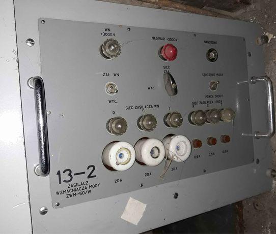 Wzmacniacz 1.5÷30Mhz + zasilacze R140