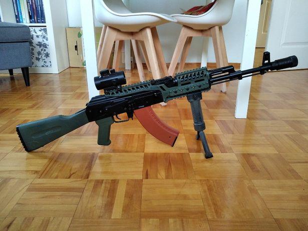 AK74m od ICS - 453 fps - mosfet+tuning