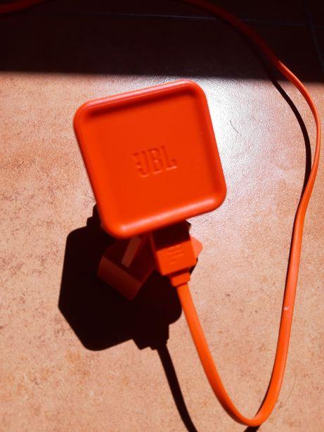 Carregador jbl charge flip clip pulse go usb cabo 5v 2.3a bluetooth