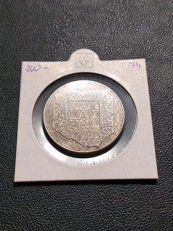 Moneta 200 złotych XXX lat PRL 1974