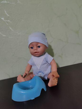 Кукла - Пупс, с горшком.