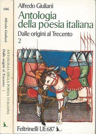 Antologia della poesia italiana – Dalle origini al Trecento – 2 vols