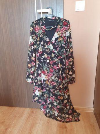 Sukienka asymetryczna 34 Bershka