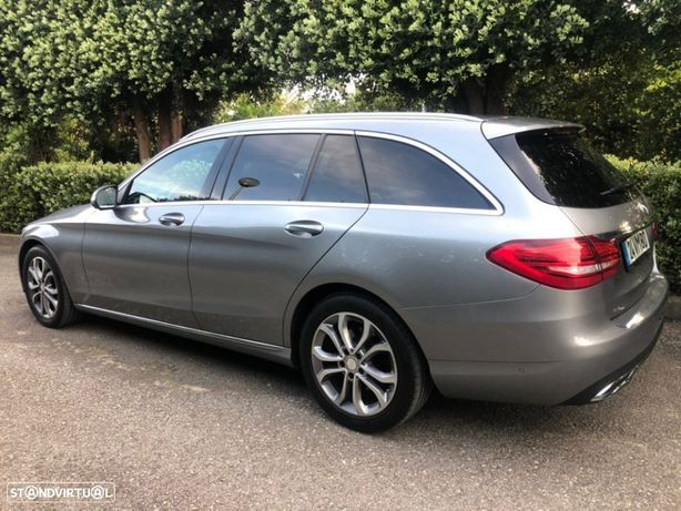 Mercedes-Benz C 200 BlueTEC Avantgarde + • Revisões todas Marca • GPS • Estofos Pele • Som Profisional • Full Extras •