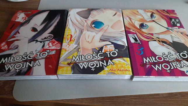 manga Miłość to wojna( Love is War) - tomy 1-3