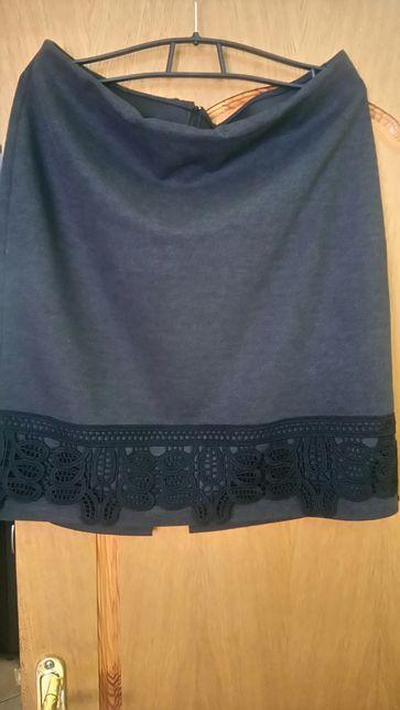 Шикарная теплая юбка р.56-58