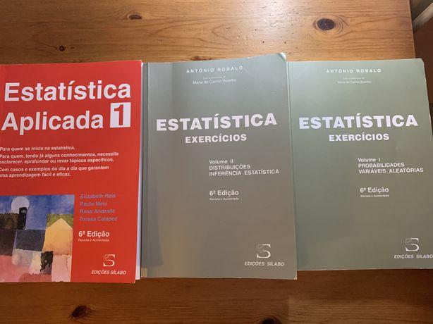 Estatistica aplicada e Exercicios