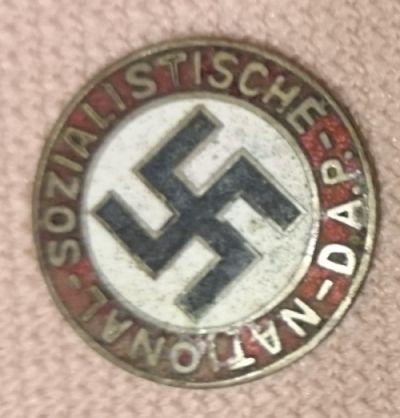 Niemiecka odznaka NSDAP oryginał