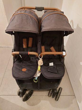 Wózek bliźniaczy rok po roku coletto enzo twin