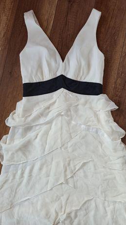 Suknia wieczorowa ślub cywilny rozmiar 36