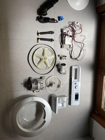 Pecas maquina de lavar indesit