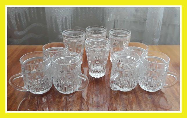 Бокалы стаканы хрустальные бокалы на подарок стаканы хрусталь келихи