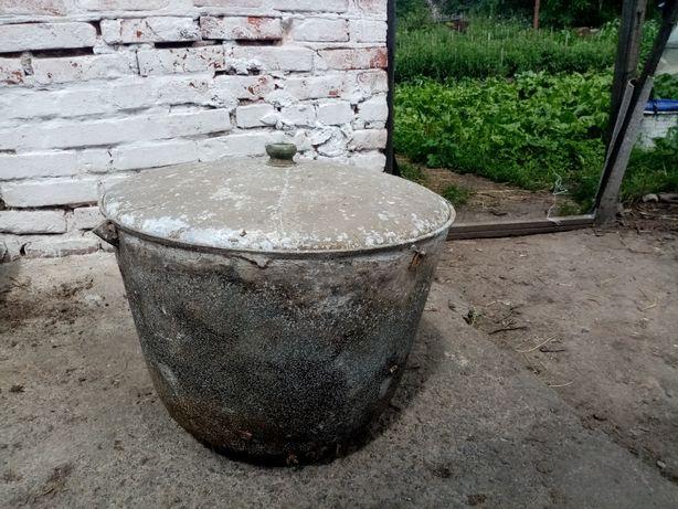 Чугунный казан 50 литров