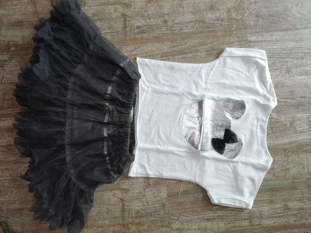 Spódniczka i bluzka 2 latka