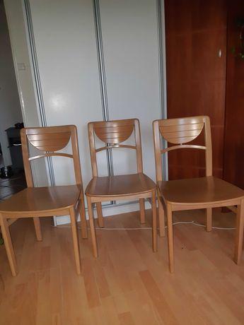 Krzesło olcha Krzesła 3szt