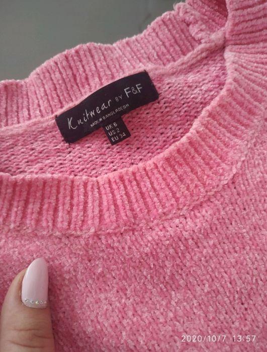 Różowy sweterek damski Skarszewy - image 1
