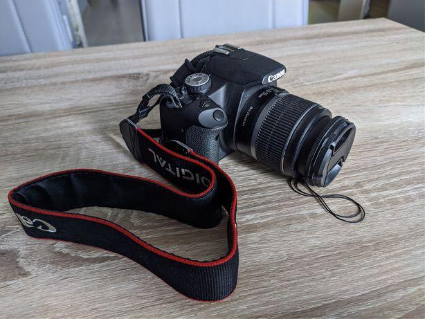 Canon EOS 500D z torbą i akcesoriami