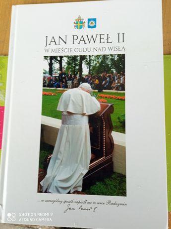 Jan Paweł drugi w mieście cudów nad Wisłą