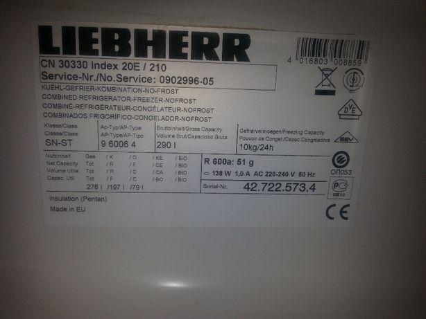 Liebheer CN30330 lodówka - części wyposażenia