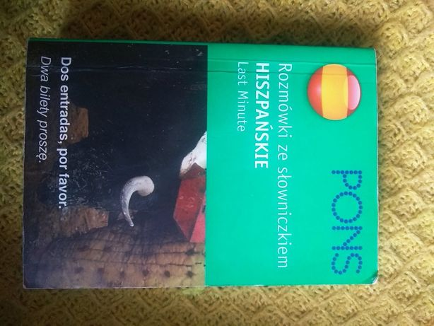 Słownik rozmówki że słowniczkiem Hiszpańskie lasy minutę Pons