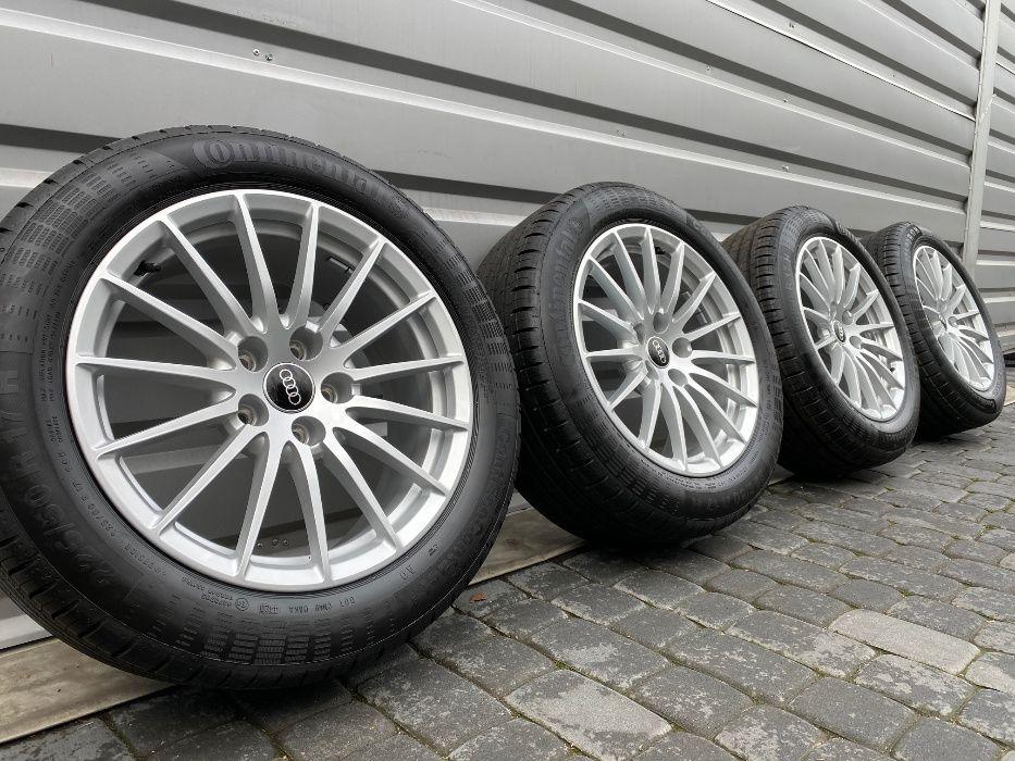 "NOWE OPONY Oryginalne Felgi Koła Audi 17"" A4 A5 A6 A7 A8 Q3 Q5"
