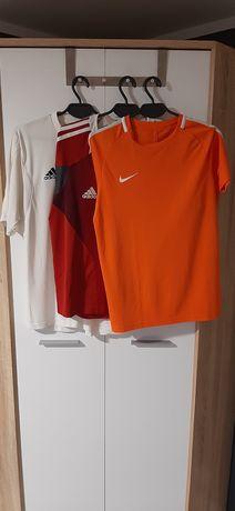 Koszulki sportowe Nike Adidas