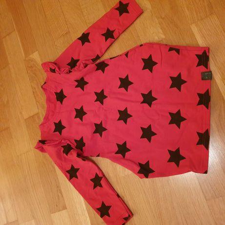 Tunika / sukienka roz. 104 czerwona, święta