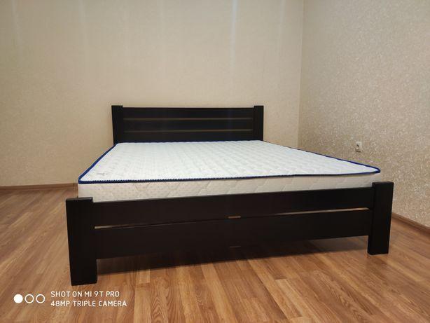 Кровать деревянная в наличии и под заказ