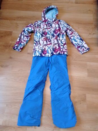 Kurtka Roxy 12 lat 143 152 spodnie narciarskie snowboardowe komplet