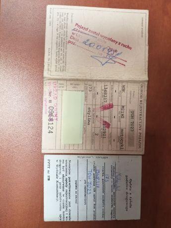 Kolekcjonerski WSK 1974 r. Dowód