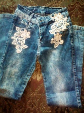 Дитячі джинси 122-128р.
