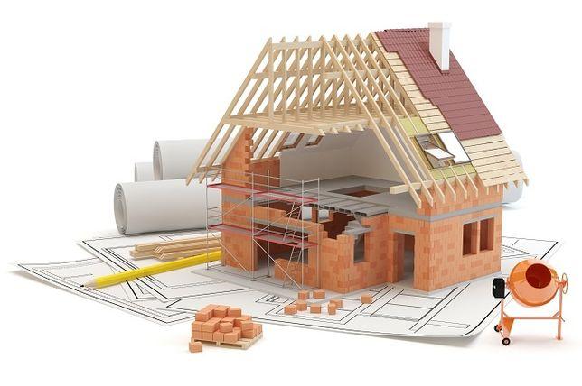 Budowa domów, Ogrodzenia, wykończenia wnętrz.