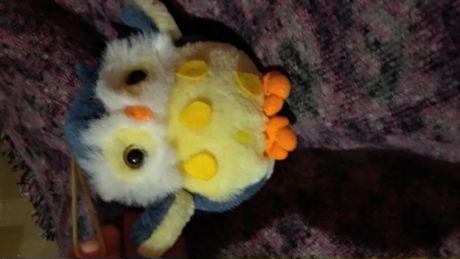 средняя мягкие игрушки сова филин плюшевая фирменная