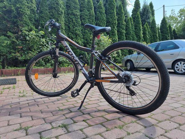 Rower górski MTB Romet R6.0,  26 czarno-pomarańczowy