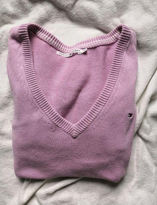 Różowy sweterek Tommy Hilfiger Zabrze - image 1